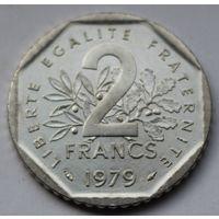 Франция, 2 франка 1979 г.