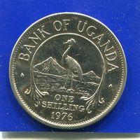 Уганда 1 шиллинг 1976 , VF
