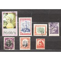 Сборный лот  старых марок  Америки