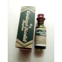 Старинная оригинальная упаковка Cardiazol-Dicodid-Tropfen,фирмы Knoll,Германия,10g.Начало XX-го века.