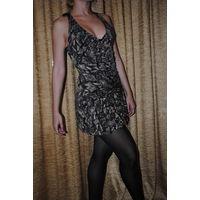 """ИДЕАЛЬНОЕ фирменное вечернее платье,-Seam creative line""""ЛИЗА"""",размер-(42/44),-на рост 164-175.НОВОЕ!Фабричная ТУРЦИЯ."""