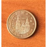 Испания, 5 евроцентов 2007