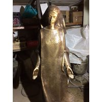 Скульптура из бронзы Монахиня, Скорбящая Caggiati Италия 105 см