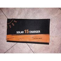 Портативная солнечная батарея Xionel S-15W для отдыха,туризма,рыбалки,путишествий
