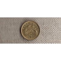 Сингапур 5 центов 2004/(En)