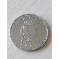 Мальта 10 центов 1998г.