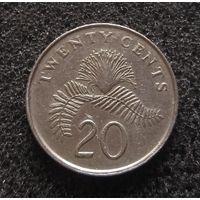 Сингапур, 20 центов 1989