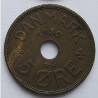 Дания 5 эре 1930