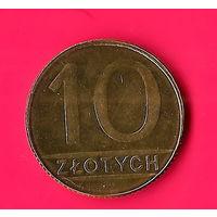 26-41 Польша, 10 злотых 1989 г.