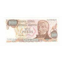 1000 песос Аргентины
