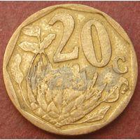 6056:  20 центов 2009 ЮАР