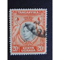 Кения, Уганда, Танганьика 1938г.