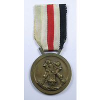 Медаль за итало-германскую кампанию в Африке, 3-й Рейх. РЕДКАЯ!!