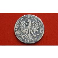 2 Злотых 1934 -Речь Посполитая Польша- *серебро
