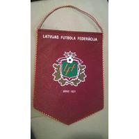 Вымпел Федерация футбола Латвии
