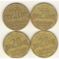 20 сентимо 1991, 1993, 1994, 1996 г.