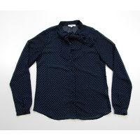 Крутая блузка в горошек р-р 42