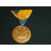 Австрия. Медаль ,, За особые заслуги ,, ( Нижняя Австрия ) Ветераны вермахта.оригинал.