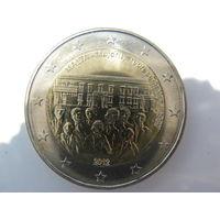 Мальта 2 евро 2012 г. Конституция Мальты - Совет большинства 1887 года. (юбилейная) UNC!