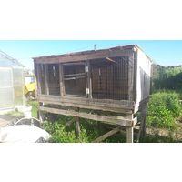 Клетка #5 для разведения кроликов, большая, самовывоз с дачного кооператива возле Жодино