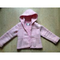 Деми курточка Rothschild для девочки, рост 116