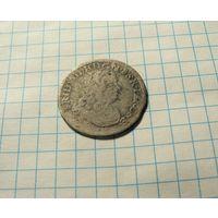 6 грошей 1681 Пруссия.Фридрих Вильгельм.