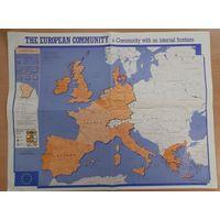 Карта Европейского Союза (1991 г.)