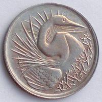 Сингапур, 5 центов 1982 года, птицы