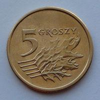 Польша 5 грошей. 2000