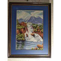 Водопад картина