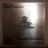 BAD COMPANY - 1976 - RUN WITH THE PACK, (GERMANY), LP