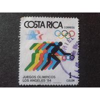 Коста-Рика 1984 Олимпиада Лос-Анджелос