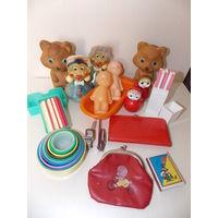 Игрушки из детства СССР, неваляшка, счетные палочки, пупсы, и др. ВСЕ игрушки одним лотом!