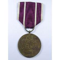 Медаль польские силы обороны. Польша