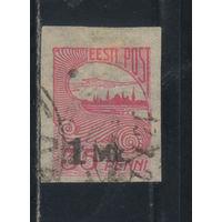 Эстония Респ 1920 Рига Надп Стандарт#18