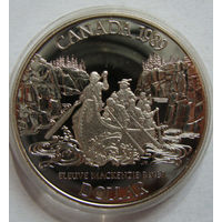 Канада 1 доллар 1989 г