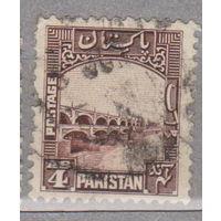 Пакистан  архитектура местные мотивы 1948 год  лот 4