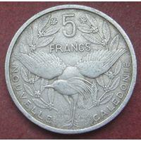 6479:  5 франков 1952 Новая Каледония