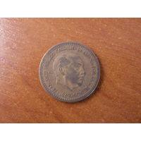 1 песета 1963  Испания КМ# 775 алюминиевая бронза #96