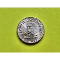"""Филиппины. 25 сентимо 1982 (Отметка монетного двора """"BSP"""" - Филиппины, Манила)."""