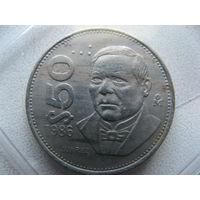 Мексика 50 песо 1986 г.