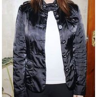 Куртка девичья черная