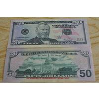 США 50 долларов