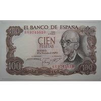 Испания 100 песет 1970 г. (d)