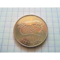 Мозамбик 100 метикалов 1994