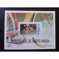 Верхняя Вольта 1980 Олимпиада в Москве, велоспорт Блок