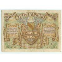 Германия (Манхейм), 10.000 марок 1923 год.