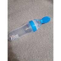 Силиконовая бутылочка