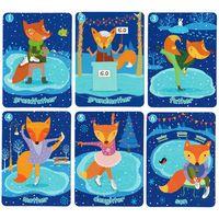 W: Карточка БАРНИ, набор из 6 штук, НОВЫЙ