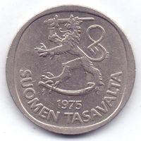 Финляндия, 1 марка 1975 года, S.